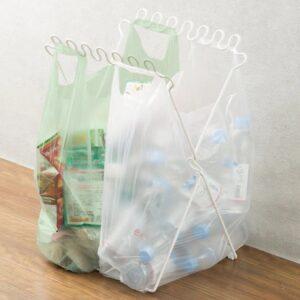 容量大きめ【分別ゴミ袋スタンド Pブラン】