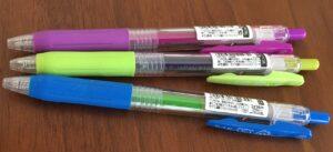 サラサクリップ《ボールペン本体の品番》