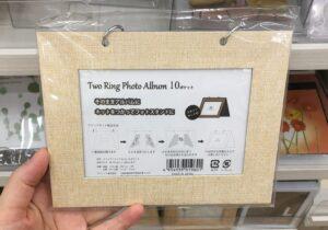 セリア【2リングフォトアルバム】
