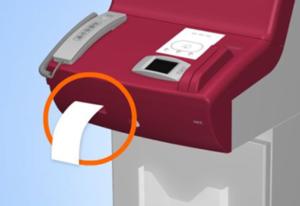 Loppi本体から商品引換券が発行されるイメージ画像